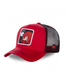 Casquette Capslab Sonic Knuckles Rouge