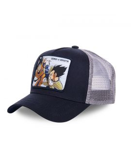 Casquette Dragon Ball Z Goku VS Vegeta CapsLab
