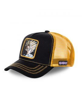 Capslab Dragon Ball Z Super Saiyan Black and Yellow Cap
