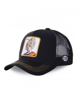 Trucker Cap Capslab Dragon Ball Z Black