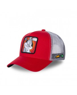 Trucker Cap Capslab Looney Tunes Bunny Red