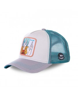Trucker Cap Capslab Dragon Ball Z Bulma White