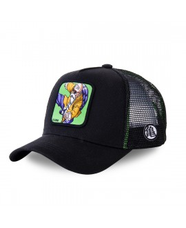 Trucker Cap Capslab Dragon Ball Z Black and Green