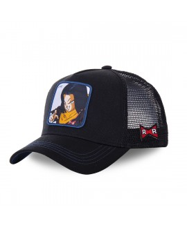 Trucker Cap Capslab Dragon Ball Z C-17 Black