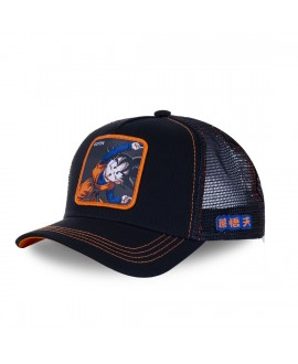 Trucker Cap Capslab Dragon Ball Z Goten Black