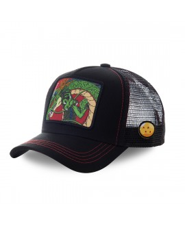 Trucker Cap Capslab Dragon Ball Z Shenron Black