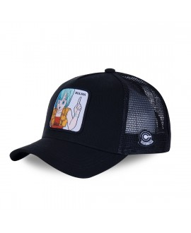 Trucker Cap Capslab Dragon Ball Z Bulma Black