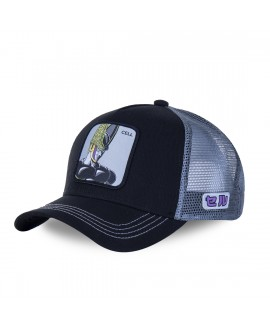 Trucker Cap Capslab Dragon Ball Z Cell Black