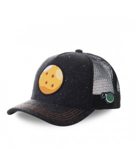 Trucker Cap Capslab Dragon Ball Z Ball Black