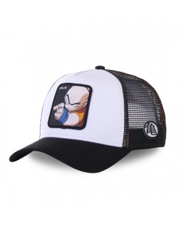 Trucker Cap Capslab Dragon Ball Z Krillin White