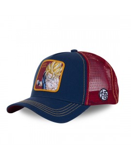 Trucker Cap Capslab Dragon Ball Z Super Saiyan Blue