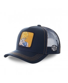 Casquette trucker Capslab Dragon Ball Z Super sayan Noir