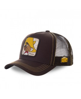Casquette trucker Capslab Looney Tunes Speedy Marron