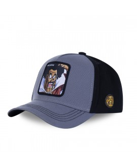 Capslab Dragon Ball Z Mr Satan Grey Cap