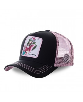 Capslab Saint Seiya Andromeda Black and Pink Cap