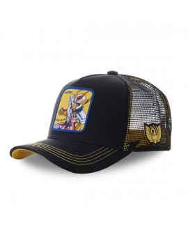 Capslab Saint Seiya Phoenix Black and Yellow Cap