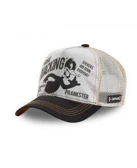 Men's Capslab Looney Tunes Daffy Beige Cap