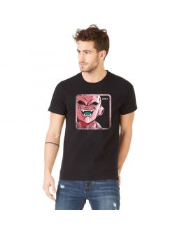 T-Shirt coton homme Dragon Ball Z Buu Noir
