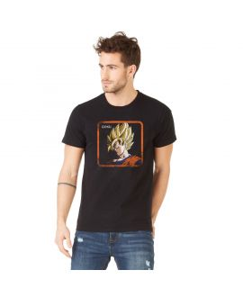 Men's cotton T-Shirt Dragon Ball Z Goku Black