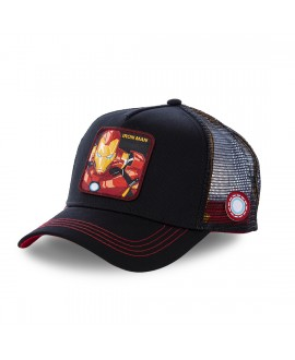 Casquette Junior Capslab Marvel Iron Man noir