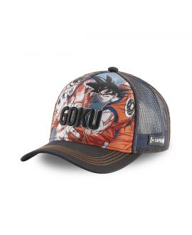 Casquette Capslab Dragon Ball Z 4 Goku Multicolore