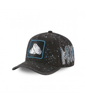 Men's Capslab Disney Mickey print effect Cap