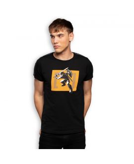 Men's Zelda Hyrule Link Black Tee shirt