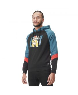 Men's Super Mario Bowser Black Hoodie