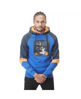 Men's Dragon Ball Z Goku Blue Hoodie