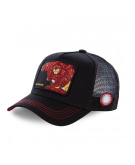 Casquette filet Capslab Marvel Iron Man Noir