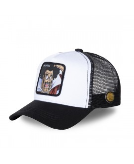 Capslab Dragon Ball Z Satan White and Black Cap
